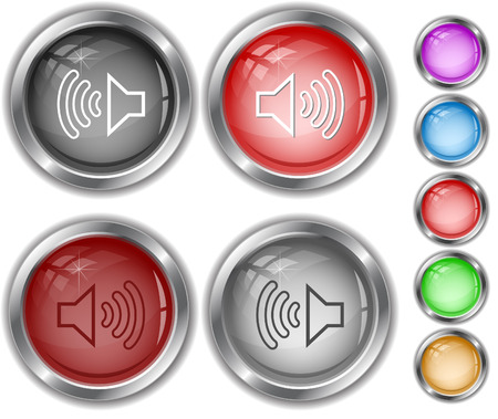 internet buttons: Loudspeaker. Internet buttons.