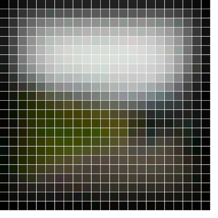Abstract vector mosaic Vector