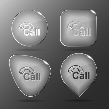 hotline: Hotline Glastasten Illustration. Illustration