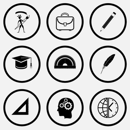 unicoloured: Education set. Black and white set