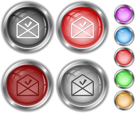 internet buttons: mail ok. Internet buttons.