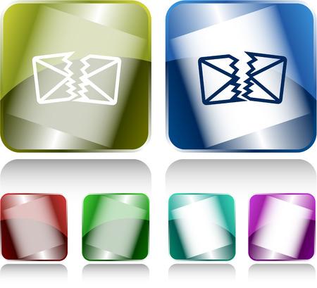 defective: defective mail Illustration