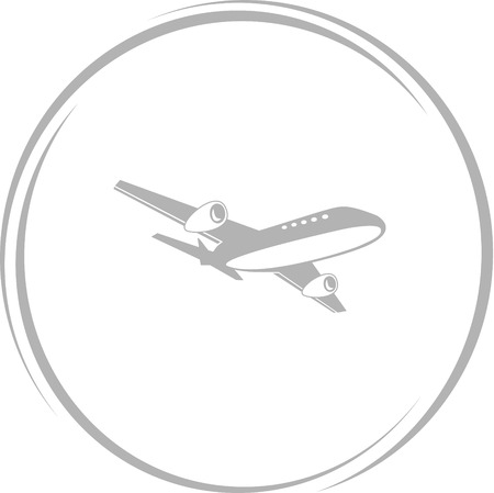 airliner: airliner - Internet button
