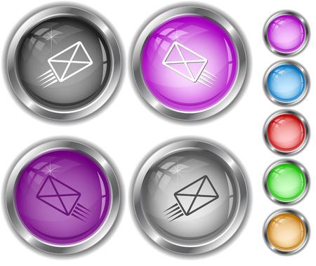 send mail: send mail. Internet buttons.