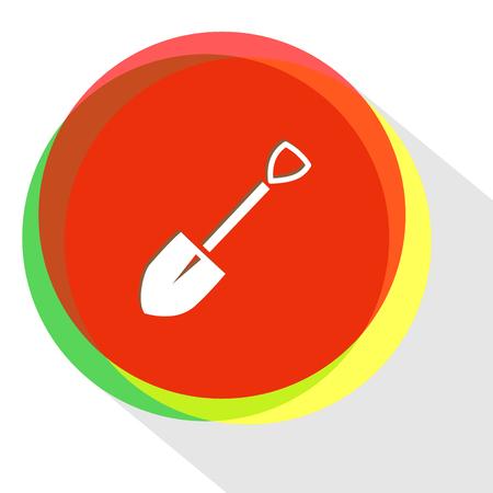 spade: spade icon Illustration