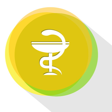 pharma: pharma symbol. Internet template. Vector icon.