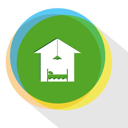 hotel. Internet template. Vector icon. Illustration