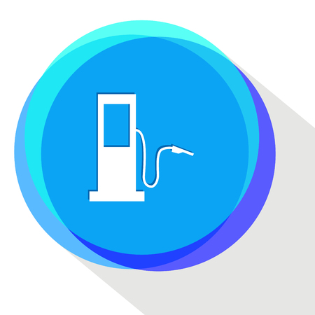 fueling station. Internet template. Vector icon. Illustration