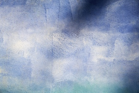 textures: Abstract blue watercolor background for textures and backgrounds Stock Photo