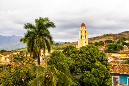 Church Tower of the former Saint Francis of Assisi Convent in Trinidad, Cuba.