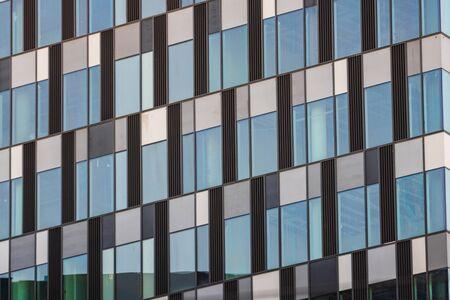 Windows of modern office building Stok Fotoğraf