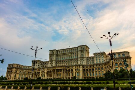 Palace of the Parliament in Bucharest, capital of Romania