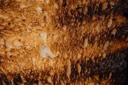 Close up photo of grilled bread. Imagens - 132237330