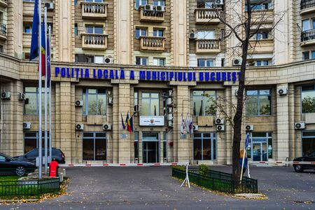 The Local Police Headquarters building in Bucharest, Romania, 2019