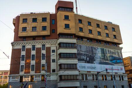 Bucharest public transportation headquarters, STB in Bucharest, Romania, 2019 Redakční