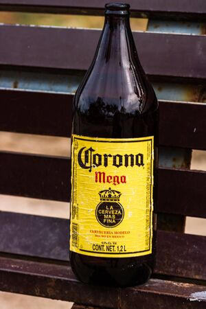 Corona Extra, Corona Mega, one of the top-selling beers worldwide is a pale lager produced by Cerveceria Modelo in Mexico