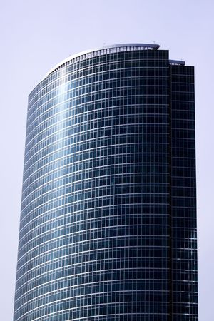 New skyscrapers business centre in moscow city, russia photo