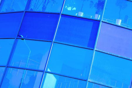 blue background abstract Stock Photo - 4907744
