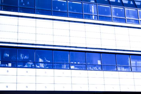 blue background abstract construction photo