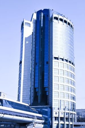 business centre: New skyscrapers business centre in moscow, Russia