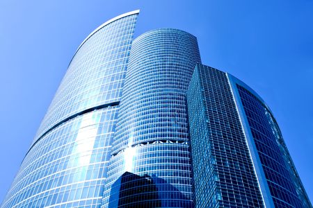 New skyscrapers business centre in moscow, Russia photo