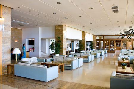 luxurious interior in Greece photo