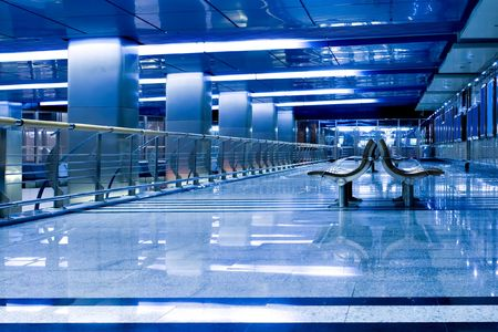 empty waiting hall in airpot Stock Photo - 5423618