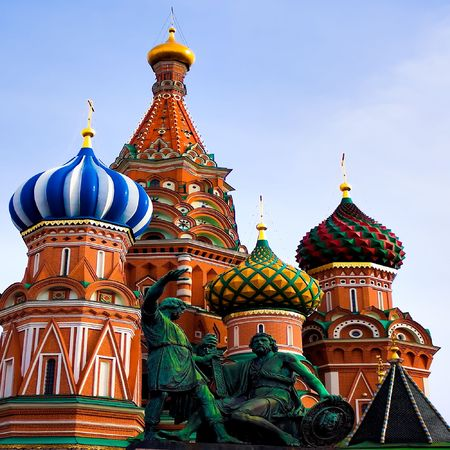 St. Basil's Cathedral on Red square, Moscow, Russia Stock Photo - 5627048