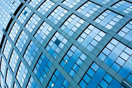 texture of modern windows photo