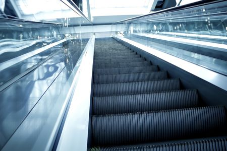 abstract move escalator Stock Photo - 5751593