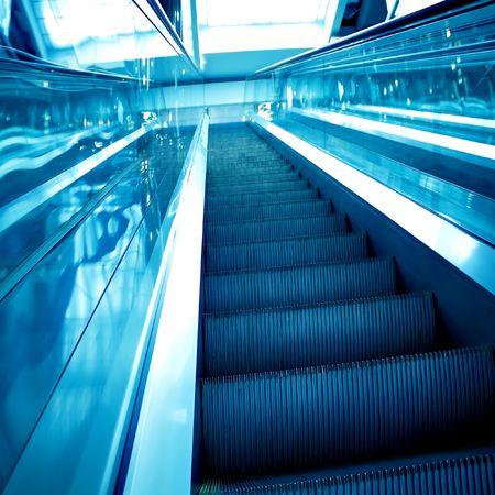 abstract move escalator photo