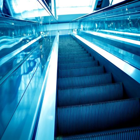 abstract move escalator Stock Photo - 5850275