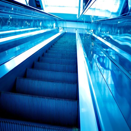 abstract move escalator Stock Photo - 5887042