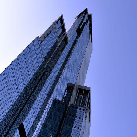 acute angle: acute tops of building angle