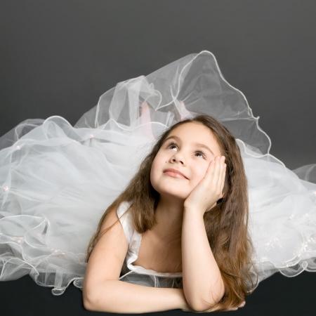 beautiful dreaming girl Stock Photo - 6542841