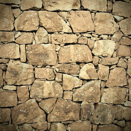 surrounding wall: Background of stone wall texture Stock Photo