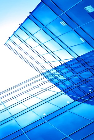 abstract glass side of business building Stock Photo - 7242220
