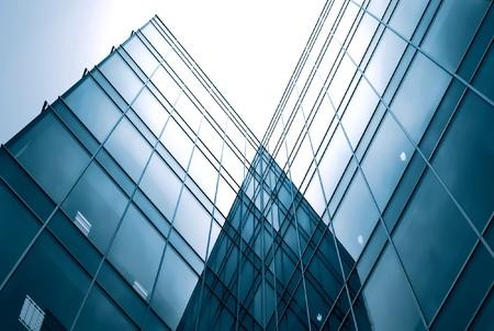 Abstrakt Glasseite des Business Gebäude Standard-Bild - 7242102