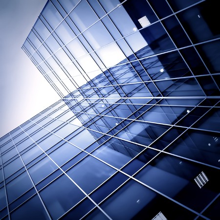glass skyscrapers at night Stock Photo - 7242161
