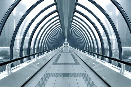 tunel: Sala contempor�nea