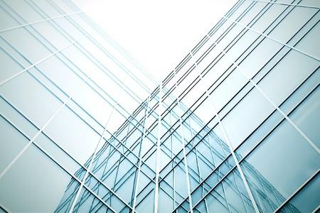 modern geometric skyscrapers Stock Photo - 7626943