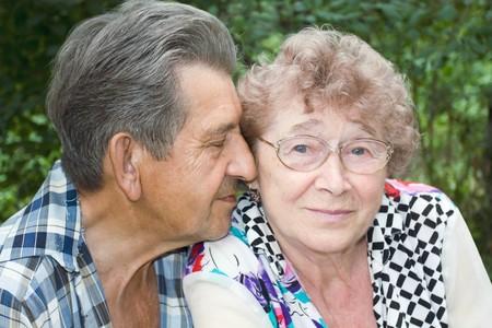 happy grandparents photo