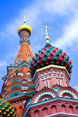 St Basils cathedral on Red Square in Moscow Stock Photo - 7891645