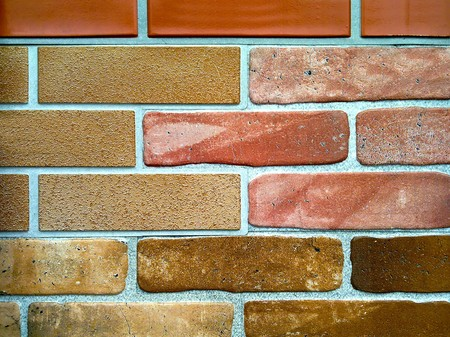 grunge colored brick-wall texture of fireplace Stock Photo - 7891940