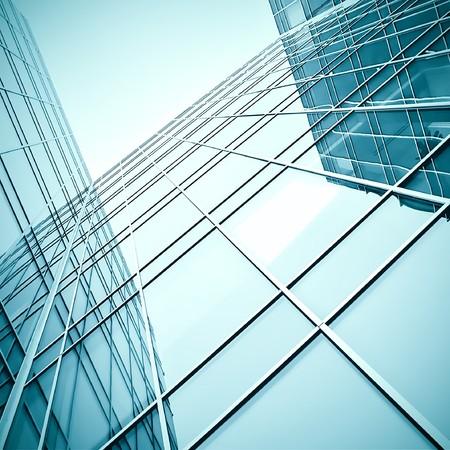 modern glass skyscraper perspective view Stock Photo - 7891810