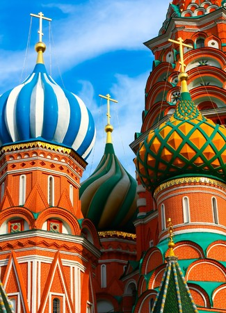 Saint Basil's Cathedral in Moscow Stock Photo - 7891947