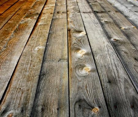Holzfussboden closeup