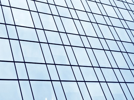 glass wall of skyscraper Stock Photo - 7891796