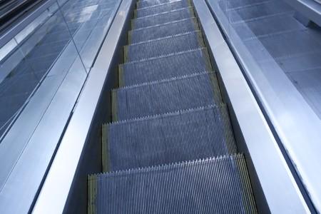 Escalator in modern building Stock Photo - 7971181