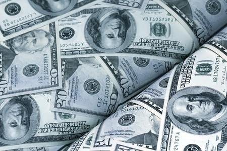 magazine of dollars money background